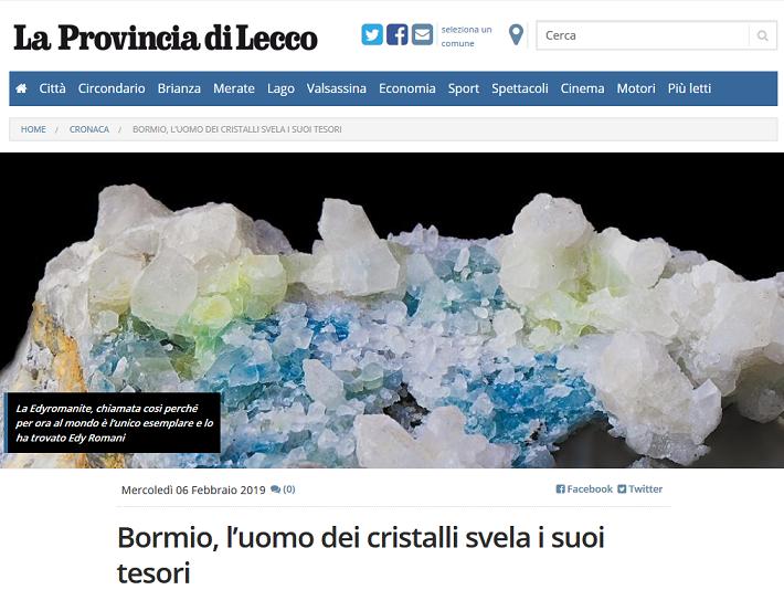 Quotidiano: La Provincia di Lecco