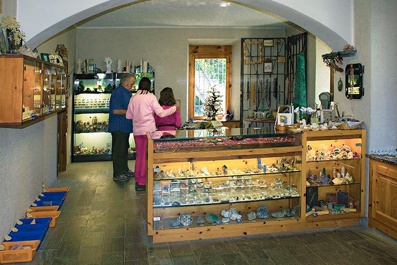 BORMINA Museo Mineralogico di Bormio